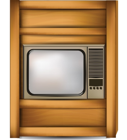 bedside television Stock Vector - 11196863