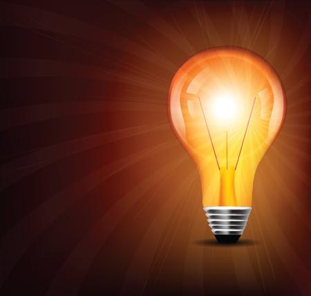 light bulb Stock Vector - 11196865