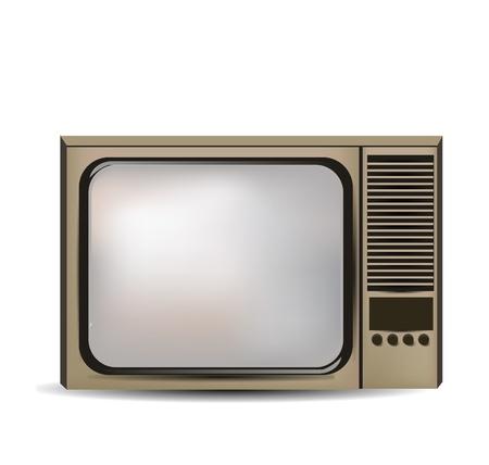television antigua: televisión aislados