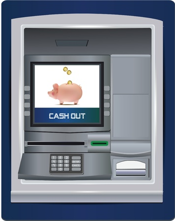 display machine: atm bank