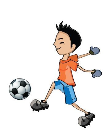 heading the ball: football