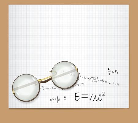 e=mc2 Standard-Bild