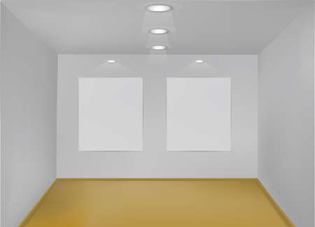 empty gallery Stock Photo - 11647962