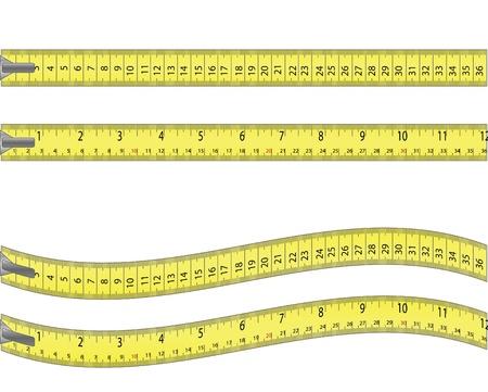 tape measure Stok Fotoğraf