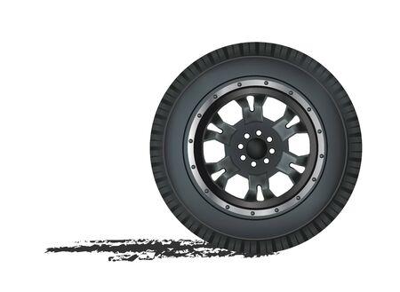 auto wheel  Stock Vector - 12437266