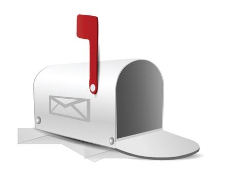 caixa de correio: Caixa de correio Ilustra��o