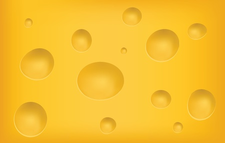 holey: Cheese Texture  Illustration