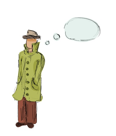 Detective Hand Drawn