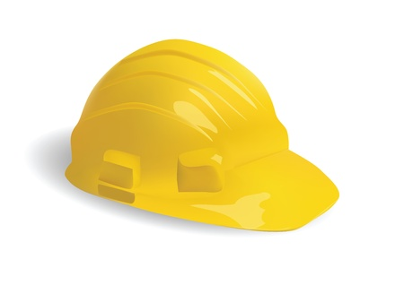 isolated hard hat  Illustration