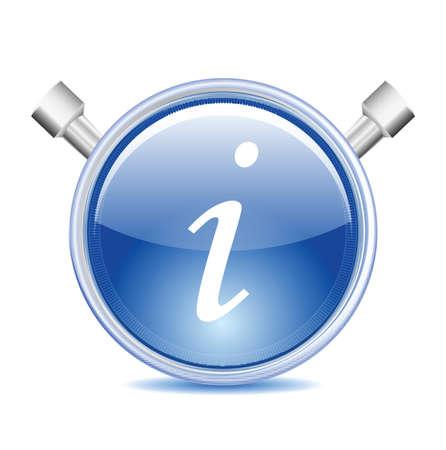Information Icon Stock Vector - 12436830