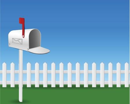 Mail Box in the garden