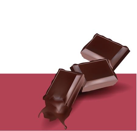 Chocolate Melting Stock Vector - 12437178