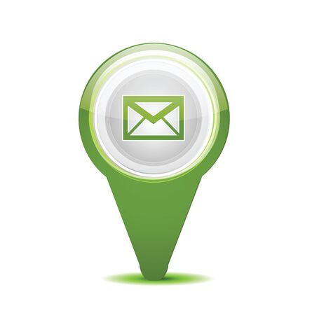 msn: Email message icon Illustration