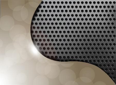 Metallic Texture Background  Stock Vector - 12438138