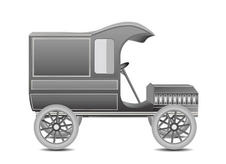 Old Retro Car Stock Vector - 12436899