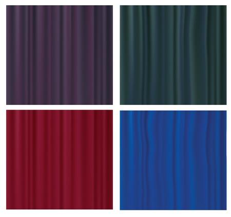 satiny cloth: silk textures