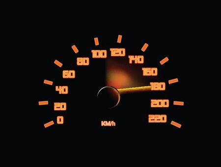 Speedometer Stock Vector - 12437323