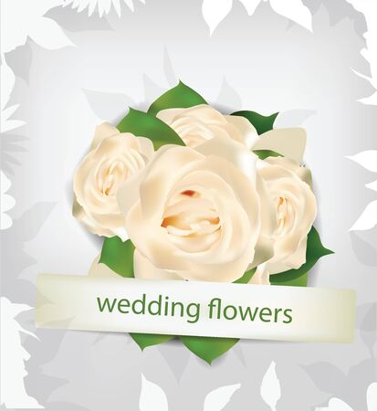 forever: Wedding flowers background