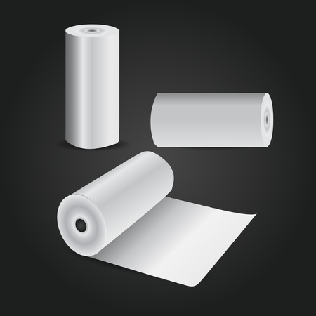 tissue paper: Rolled up Papers