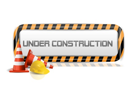 under construction: Under Construction  Illustration
