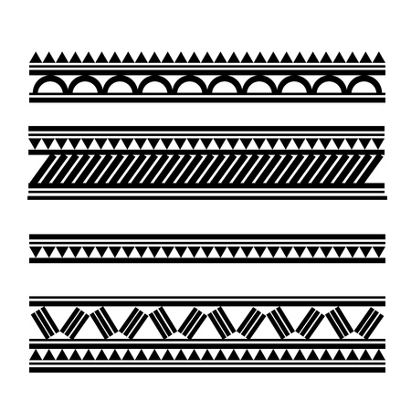 maories: Maoríes pulsera de estilo polinesio tatuaje