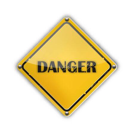 Danger Sign Stock Vector - 13361861
