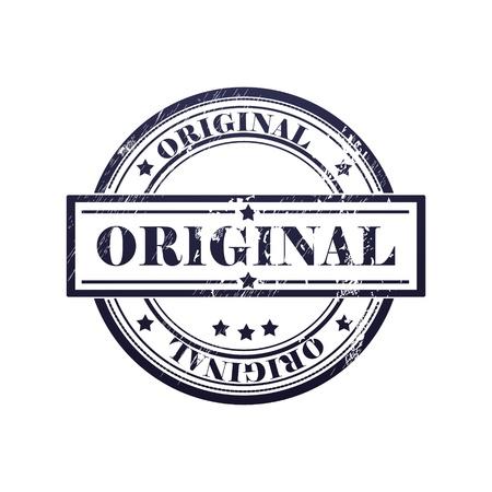 originales: grunge sello con el texto original