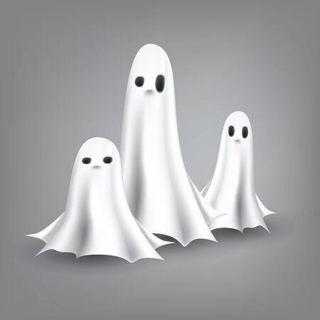 halloween ghost:  Ghosts Illustration  Illustration
