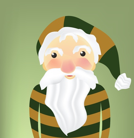 Illustration of Christmas Elf  Vector