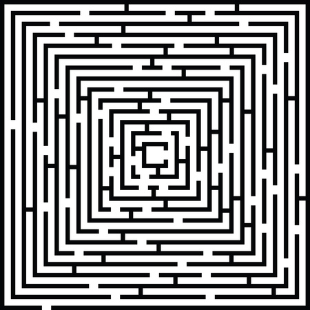 Complex Maze Background Illustration 向量圖像