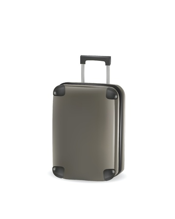 Illustration of realistic suitcase  Vector