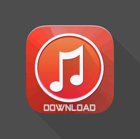 conservatory: Music Download Icon For Mobile