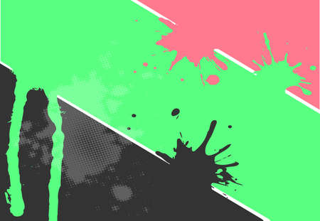 simple background: Simple Abstract Splash Background