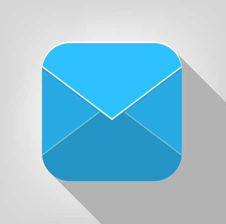 e mail: Envelope Icon for Mobile
