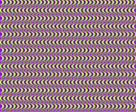 Abstract Optical Illusion Psychedelic Background