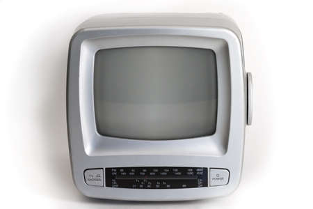 Old portable television  photo