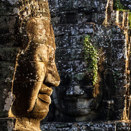 Locate on Siem Reab , Cambodia the Bayon stands at the centre of Jayavarman