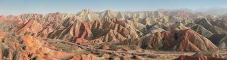 landform: Zhangye, Danxia Landform in Gansu dictrict , China