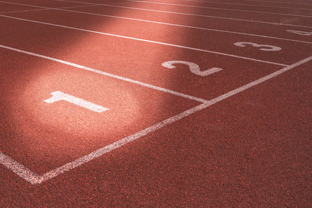 athletics track: Athletics Track Lane no. 1-3