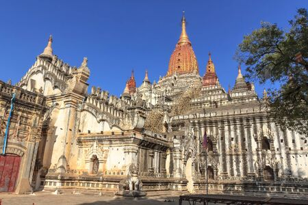 sight seeing: Ananda Pagoda is three of the most beautiful temple of bagan.