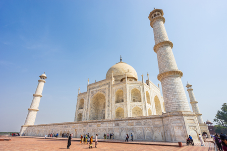 Taj mahal is worlds heritage, it was built in the memorial of love between emperor Shah Jahan and Mumtaz Mahal.