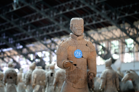 solider: Terracotta Warriors Xian