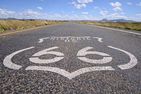 Road Marking Route 66
