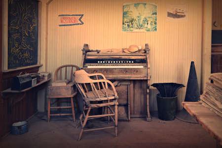 bodie: Vintage School, Bodie California