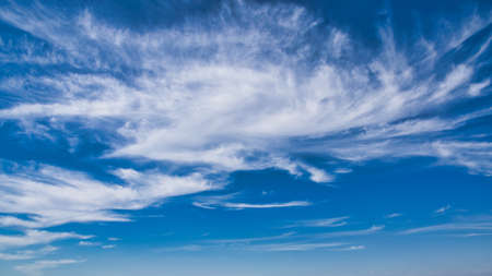 A beautiful shot of a blue sky with clouds