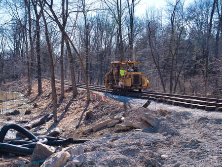 Restoring an Old Railroad Train Track on an Old Right of Way