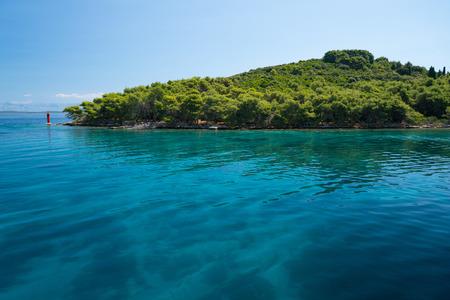 dalmatia: shore of the Dugi Otok island near Brbinj, Dalmatia, Croatia Stock Photo