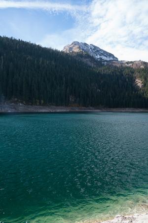 black lake Stock Photo