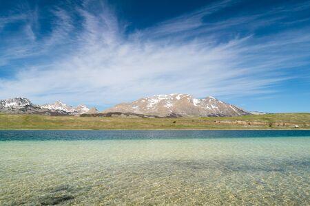 beautiful Vrazje lake in Durmitor national park