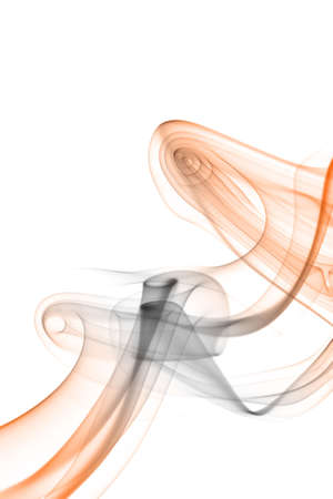 Colored smoke background on a white background.